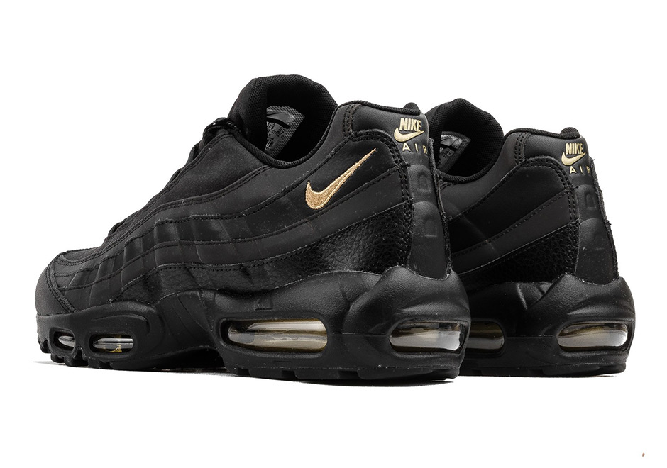 f371ef553a Nike Air Max 95 Black and Gold 924478-003 First Look | SneakerNews.com