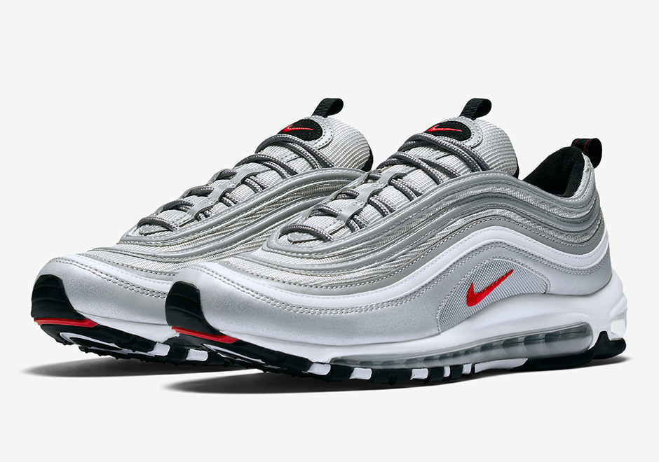 "outlet store cdaab 93c4d Nike has one final hurrah for the 20th Anniversary of the Air Max 97 as a  restock of the original ""Silver Bullet"" colorway is confirmed for late  November."