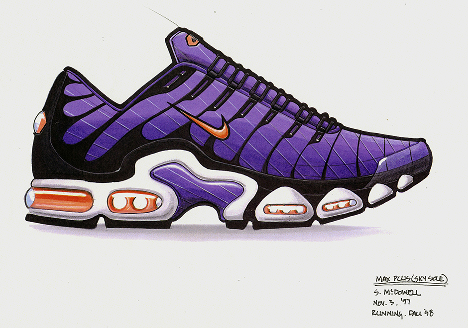 0f4842a63299 Nike Designer Sean McDowell recently sat down with Nike News to discuss the  process of creating the Nike Air Max Plus