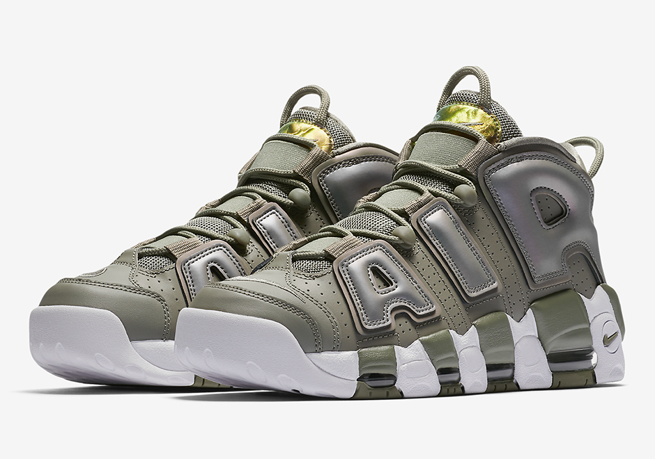 "best sneakers ec159 0720d Nike Air More Uptempo With Iridescent ""AIR"" Releasing On Black Friday"