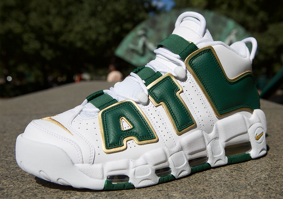 """Nike Air More Uptempo """"Atlanta"""" Honors Scottie Pippen's 1996 Olympic Gold Medal"""