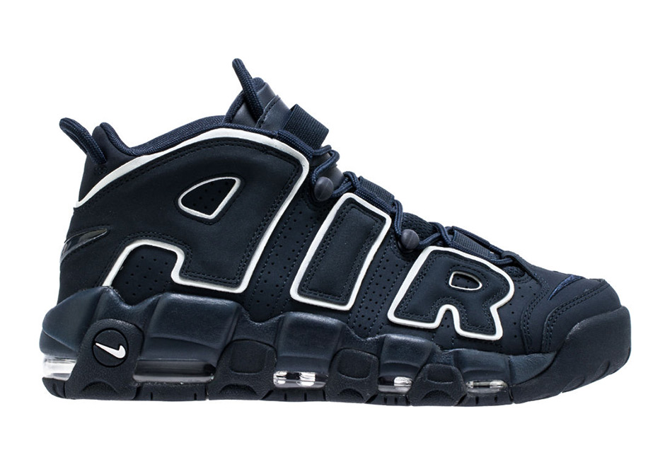 """Nike Air More Uptempo """"Obsidian"""" 922845-001 Release Info 