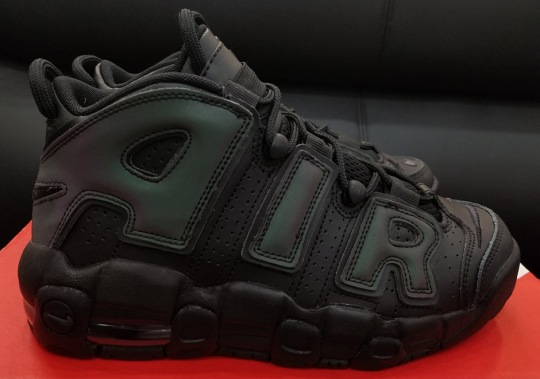 "Nike Air More Uptempo With Reflective ""AIR"" Coming Soon"