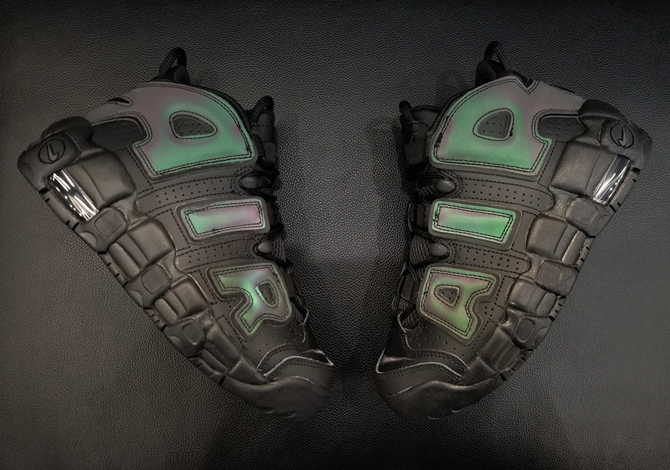 """newest d3dea 1406c Nike Air More Uptempo GS """"Reflective"""" Release Date  November 24th, 2017"""
