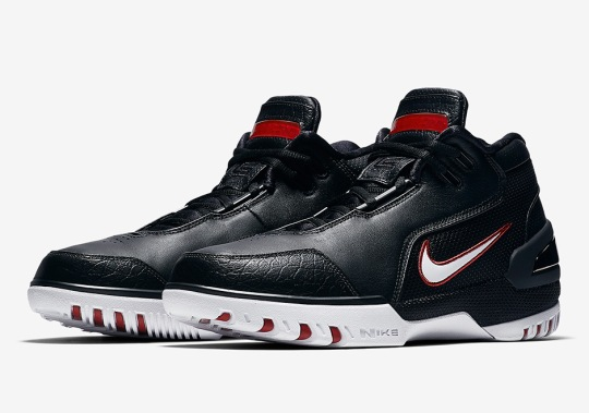 Is The Nike Air Zoom Generation Returning In The Original Black/Red Colorway?