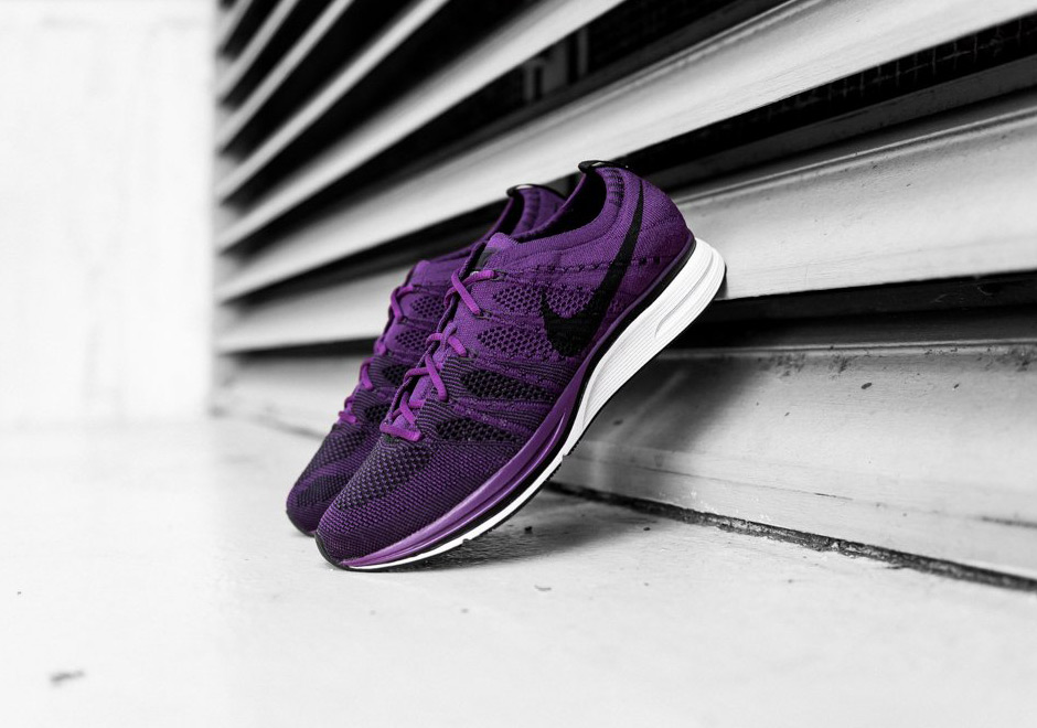 "Detailed Look At The Nike Flyknit Trainer ""Night Purple"""