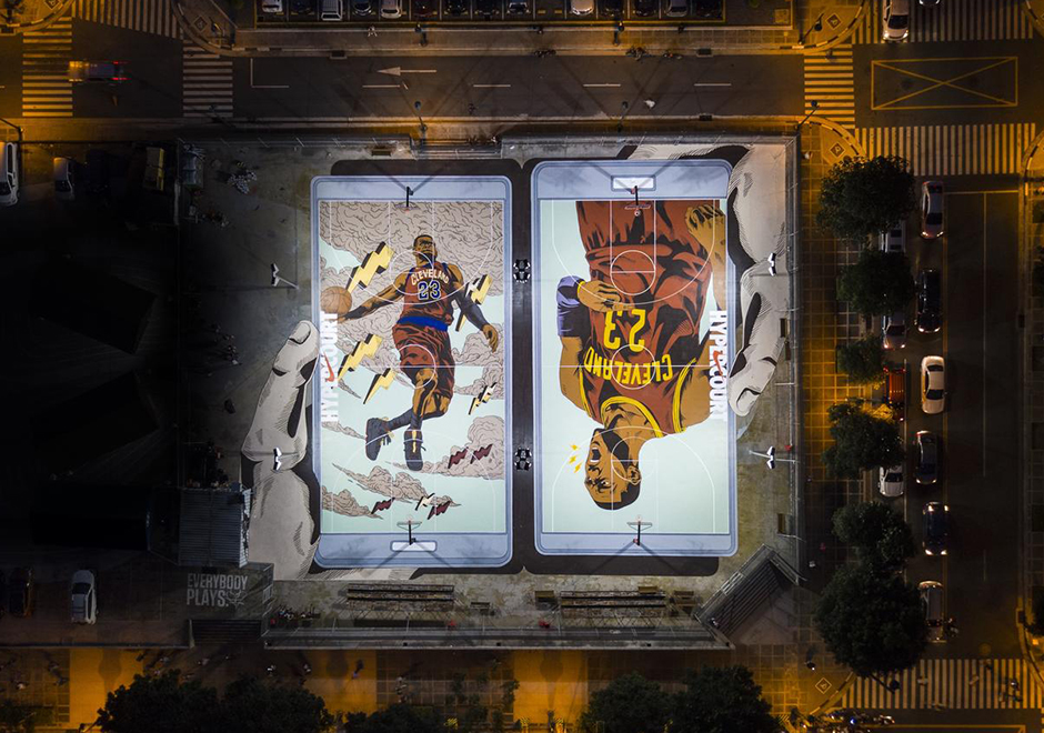 Nike Unveils Hyper Courts In Manila Philippines Inspired By NBA Superstars