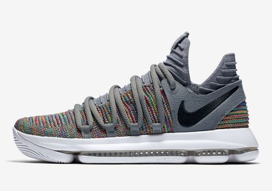 Multi-Color Flyknit Returns To The Nike KD 10