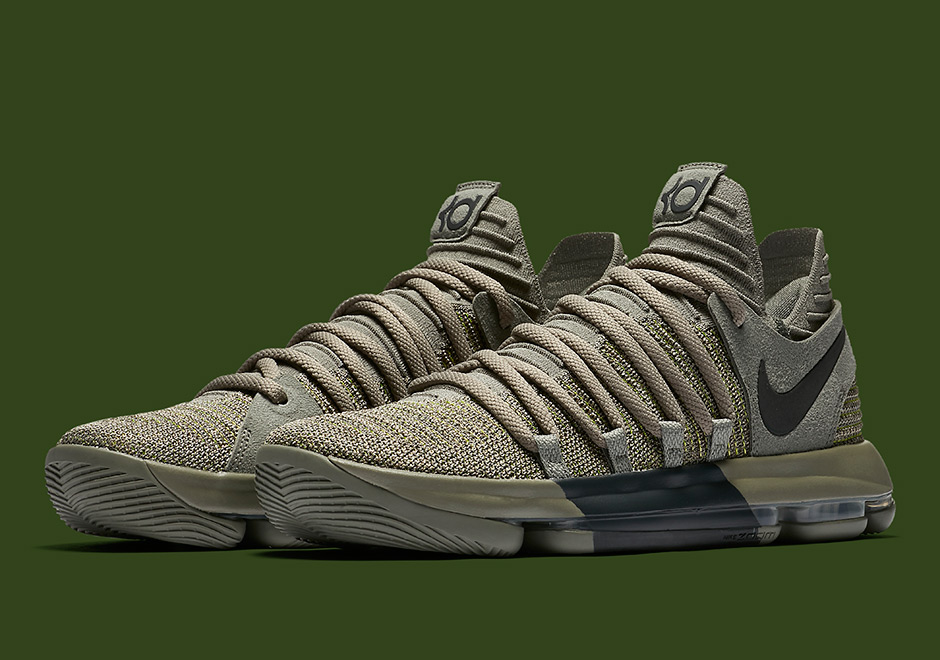Kevin Durant Has Special Sneaker Release For Veterans Day