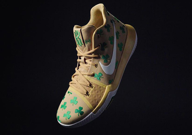 "Nike Kyrie 3 ""Luck"" PE Releasing At Two House Of Hoops"