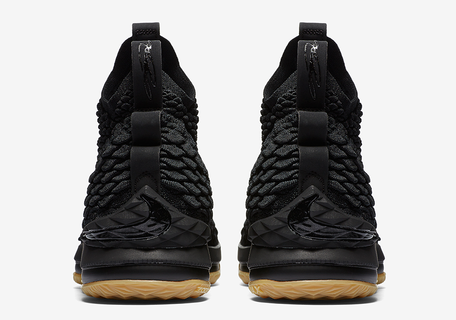 e8a6f0f8305c Nike LeBron 15 Black Gum Official Release Info + Photos ...