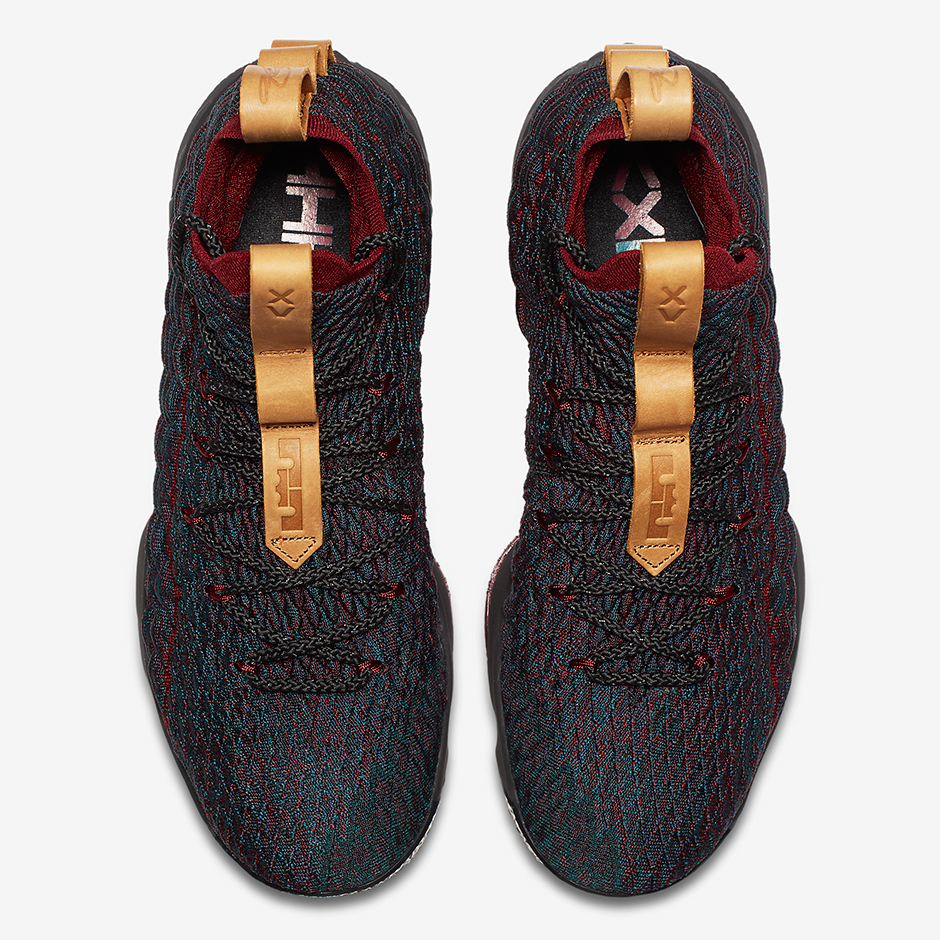 831a8f554263 Nike LeBron 15 New Heights Cavs 897648-300 Release Date + Photos ...