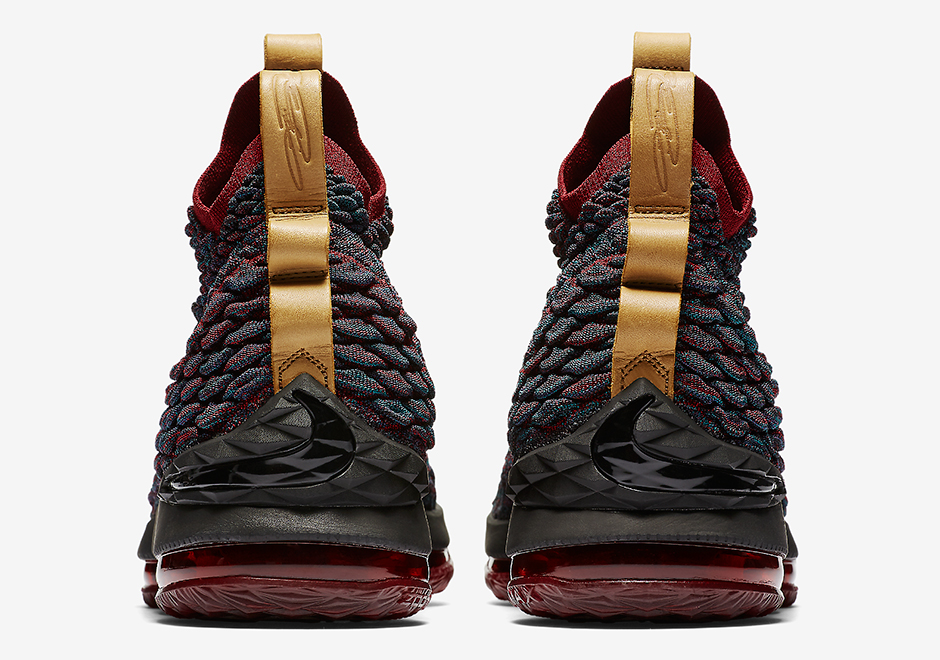 huge discount 83ddf d9ed0 Nike LeBron 15 New Heights Cavs 897648-300 Release Date + ...