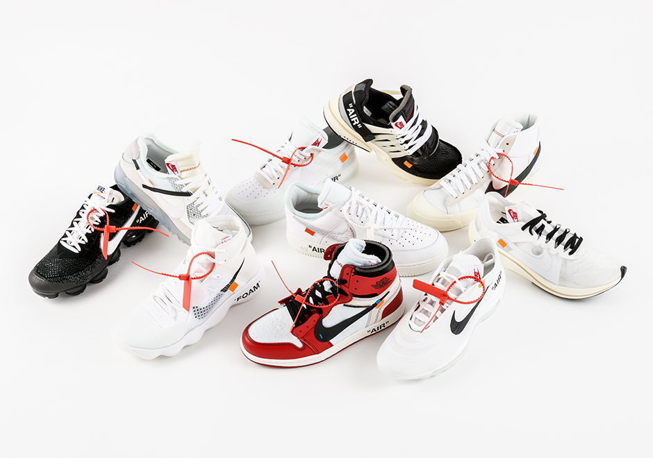 online store a5a4d ac6d6 Stadium Goods Nike x OFF WHITE The Ten Black Friday Giveaway ...