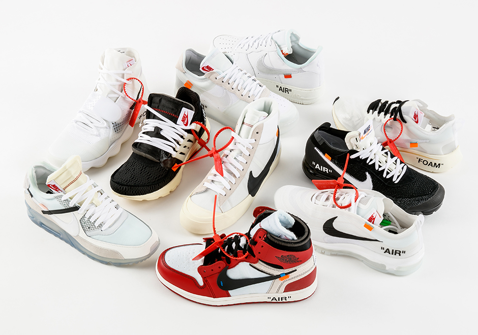 low priced 77f54 ed05d Stadium Goods Nike x OFF WHITE The Ten Black Friday Giveaway Details ...