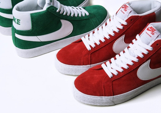 Nike SB Delivers Two Blazer Mids In Holiday Themes
