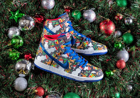 "Concepts Has Another Nike SB Dunk High ""Ugly Sweater"" Releasing This Winter"