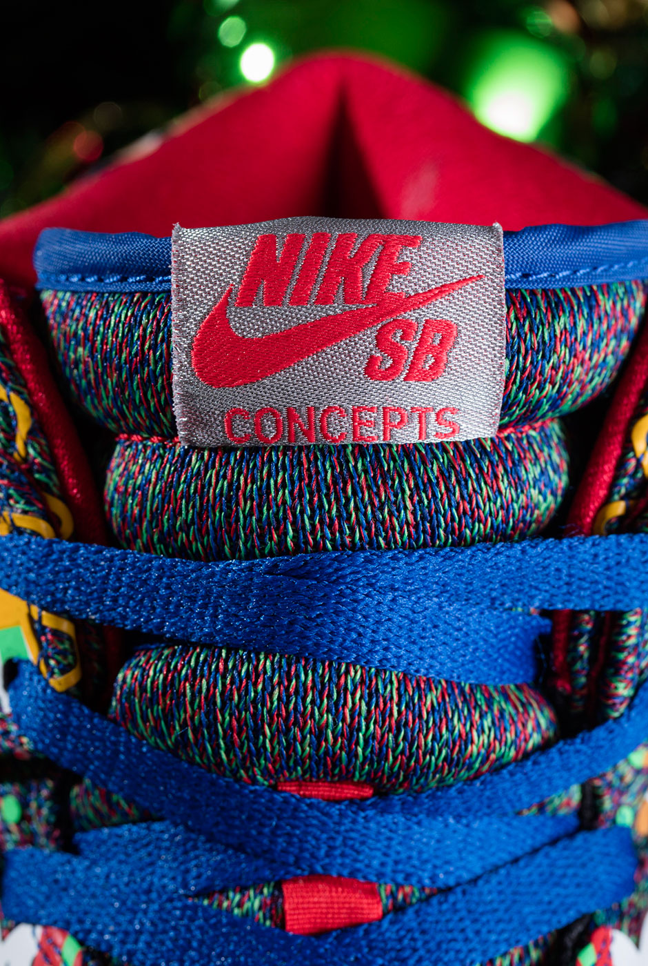 Concepts Nike SB Dunk Ugly Christmas Sweater Release Info ...