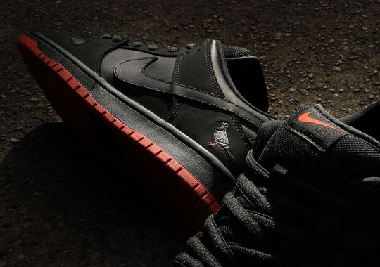 "The Nike SB Dunk Low ""Black Pigeon"" Releases Worldwide This Saturday"