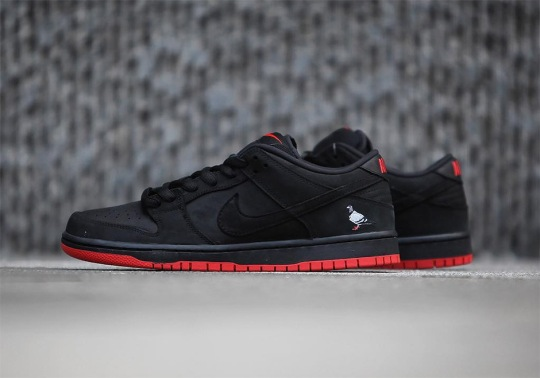 """Up Close With The Nike SB Dunk Low """"Pigeon"""""""