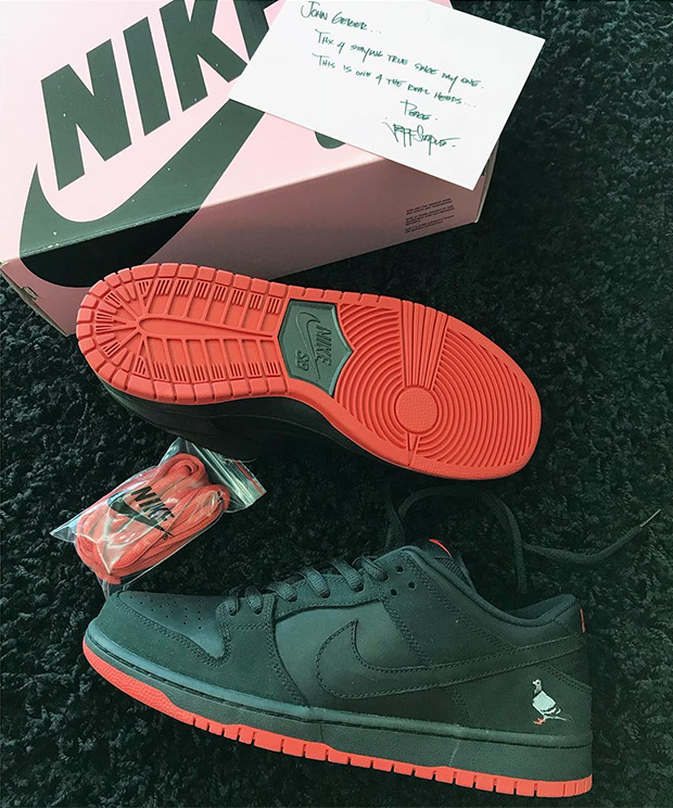 Nike SB Pigeon Dunks Release Date