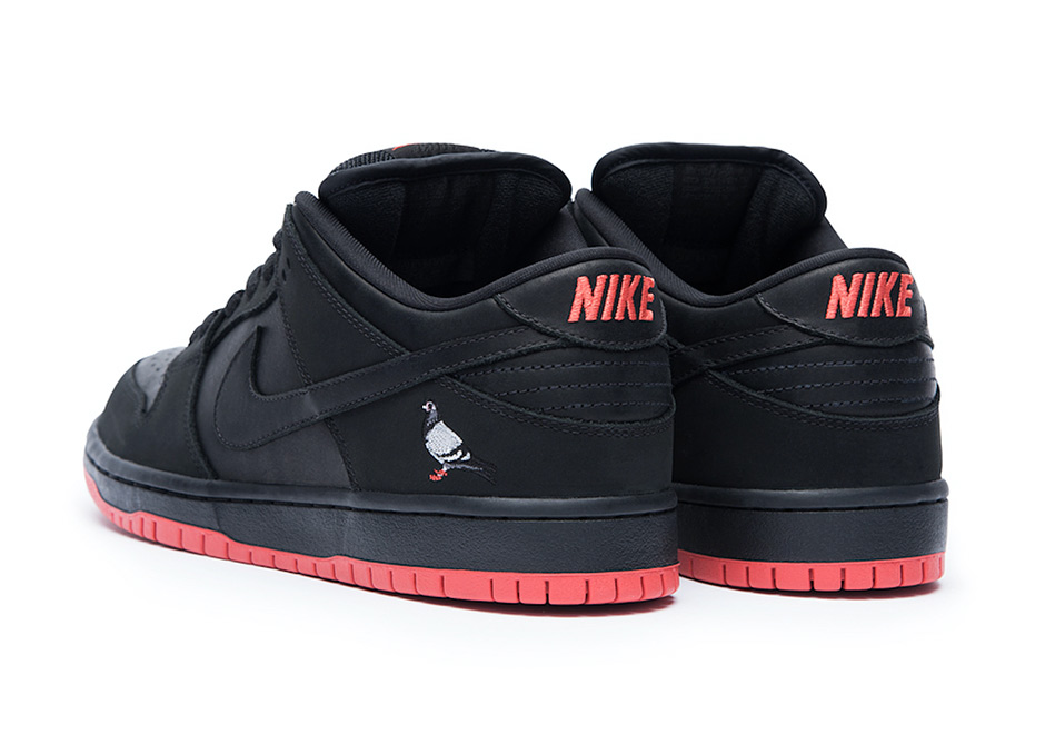 "huge discount 3f61d 9c6ef Nike SB Dunk Low ""Black Pigeon"" Extra Butter pop-up Release Date November  7, 2017. Global Release Date November 11, 2017. Color BLACKBLACK-SIENNA"