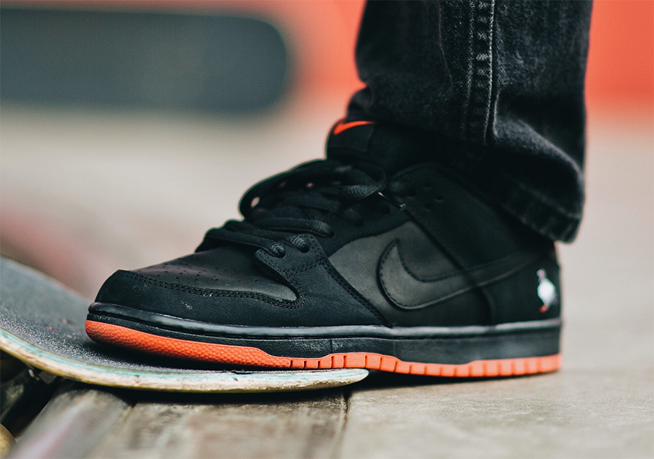 "brand new 8ad2f d4f9e Jeff Staple Nike To Release SB Dunk Low ""Black Pigeon"" At Extra Butter  Pop-Up"