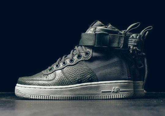 "Nike SF-AF1 Mid ""Outdoor Green"" Releasing For Women"