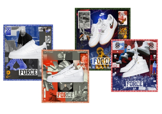 online store a3854 789ad Official Nike SNKRS Release Info For The Air Force 1 AF100 Collection