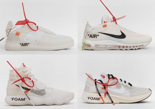 "OFF WHITE x Nike ""The Ten"" Raffles Scheduled For This Week At Sivasdescalzo"