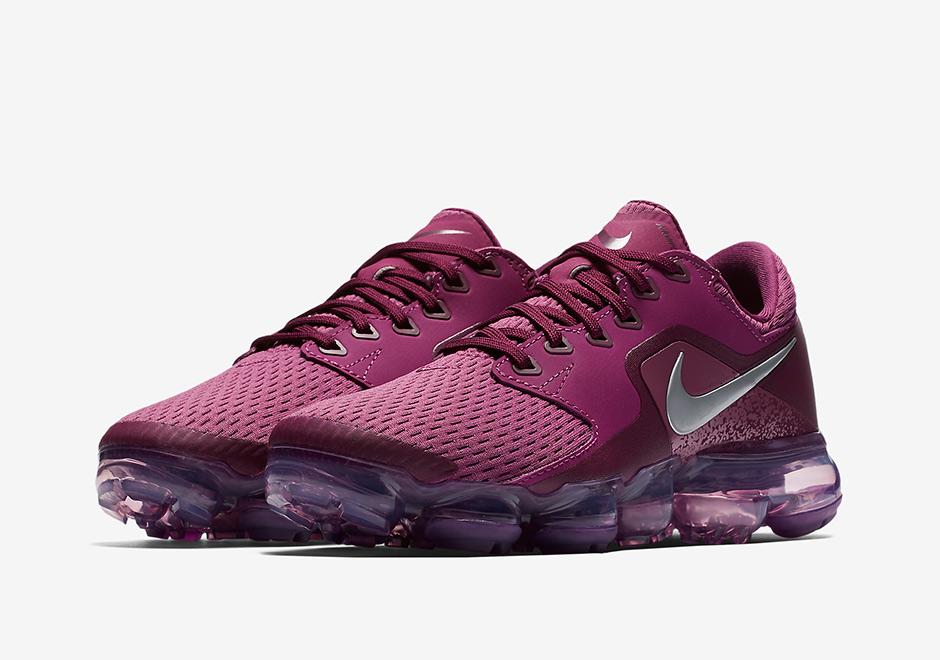 828fec9ca6be7 Nike VaporMax CS AVAILABLE AT Nike  155. Color  Tea Berry Bordeaux Tea  Berry Metallic Silver