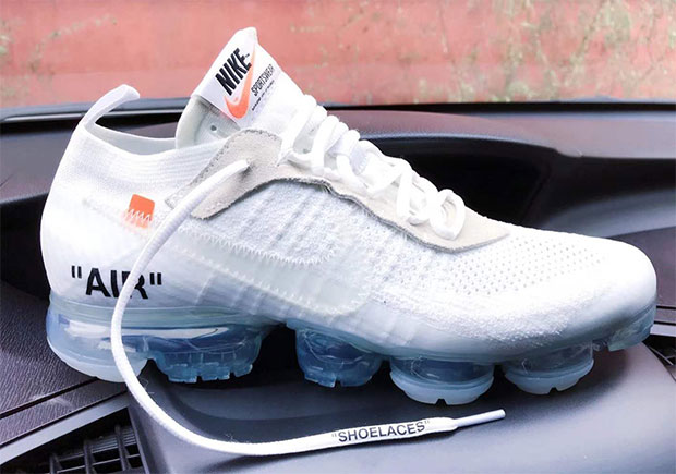 The collection of OFF WHITE x Nike collaborations is set to grow in 2018  with the addition of new colorways of the Nike VaporMax, including a new  all-white ...