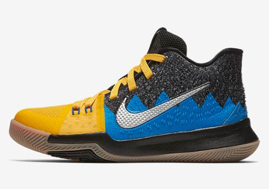 "A ""What The"" Kyrie 3 Is Releasing On Black Friday"