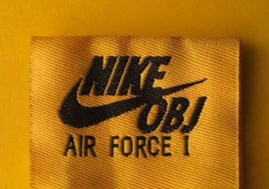 "Odell Beckham Jr. Teases Nike Air Force 1 With ""OBJ"" Nike Logo"