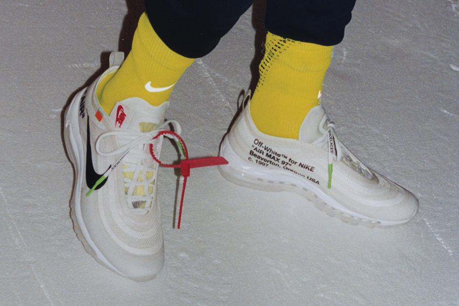 De Alta Calidad Nike W Air Max 97 Amarillo 330051 Mujer
