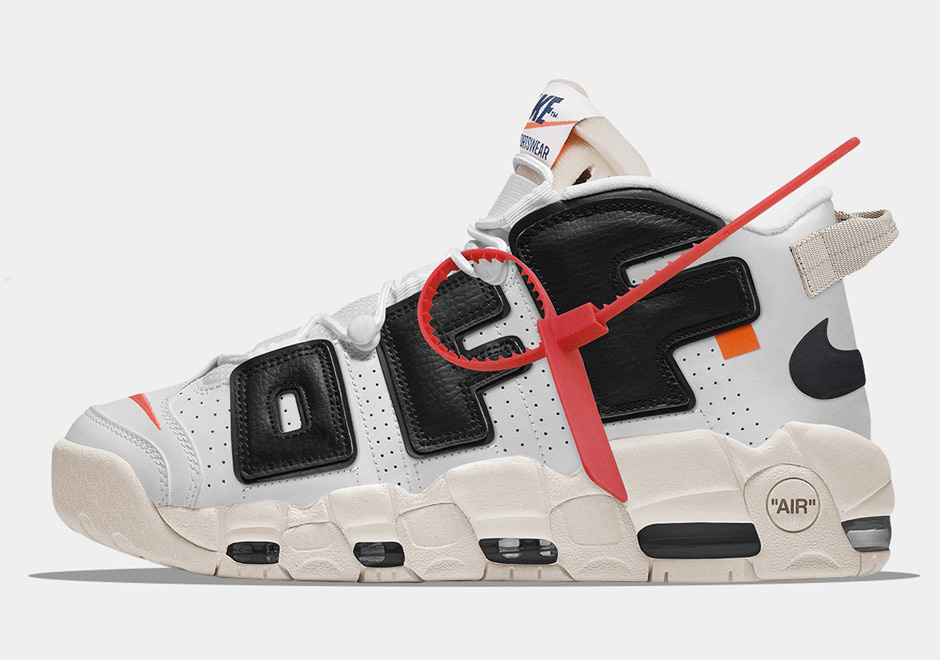 new style 22585 43b76 OFF WHITE x Nike Air More Uptempo And More Imagined By The Golden ...