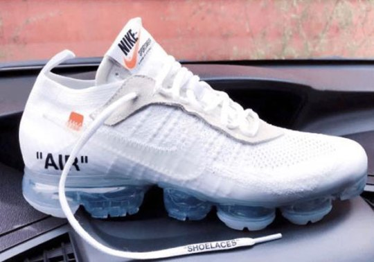 Here's A Look At The OFF WHITE x Nike Vapormax In White