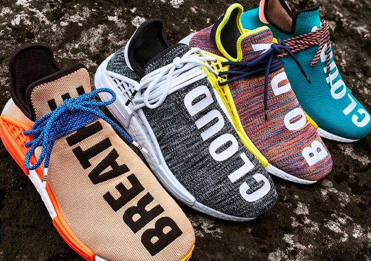 "The Pharrell x adidas NMD Hu Trail ""Hiking"" Pack Releases This Saturday"