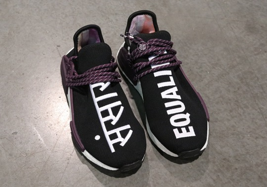 "Exclusive Look At The Pharrell x adidas NMD Hu Holi ""Powder Dye"" ""Equality"""