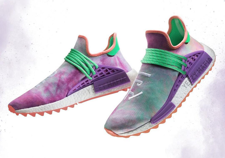 brand new e0a6d 5cbea Pharrell x adidas NMD Hu Trail Release Preview March 2018 ...