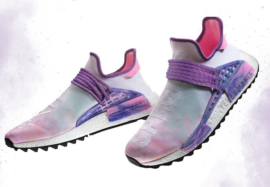 214520bd9359f Pharrell x adidas NMD Hu Trail Release Preview March 2018 ...
