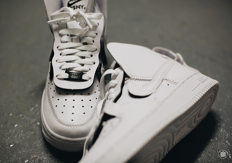 brand new 128ee 38ee4 PSNY x Nike Air Force 1 High Color  White White-White Style Code   A09292-100. Advertisement. show comments