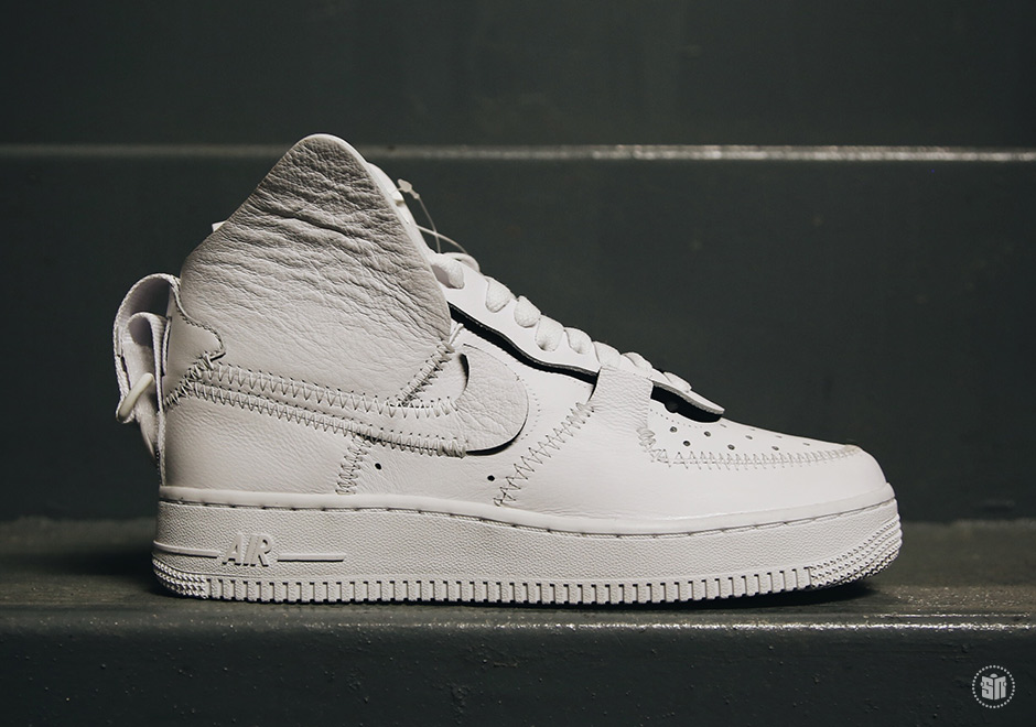 PSNY x Nike Air Force 1 High Color  White White-White 9f31b39fdaf