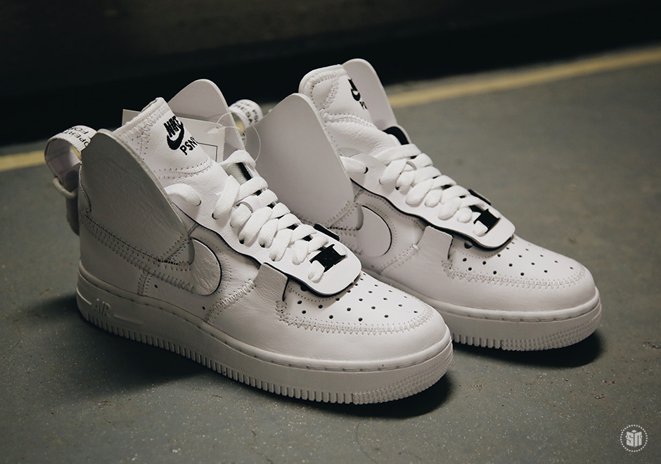 buy popular 01165 00b60 PSNY x Nike Air Force 1 High Color  White White-White
