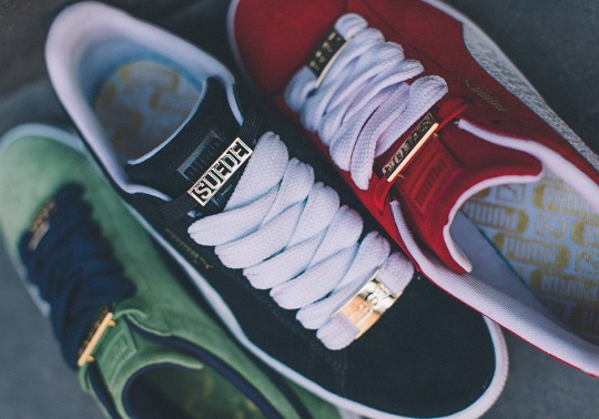 Puma Celebrates 50 Years Of Suede With the B-Boy Pack
