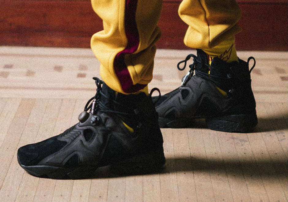 bd8ba058403 Reebok and Future are releasing another colorway of the hybrid Reebok  Furikaze Future in all-black. For those not familiar with the model