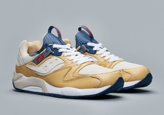 "Saucony Grid 9000 x SNS ""Business Class"" Releases On November 11th"