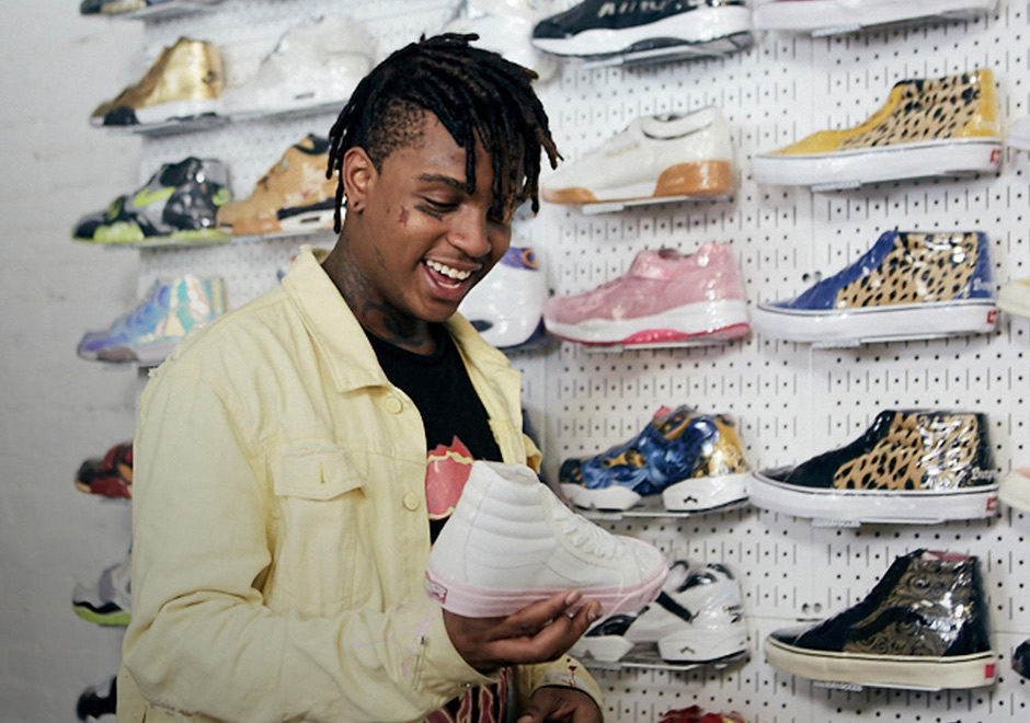 ... Mask The Slump God linked up with Complex s Joe La Puma at NYC s  Stadium Goods for another installment of the popular YouTube series Sneaker  Shopping. 9a16c6ae0