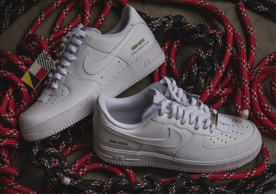 """SneakersBR Celebrates 10th Anniversary With Custom Air Force 1 """"Challenger Club"""""""