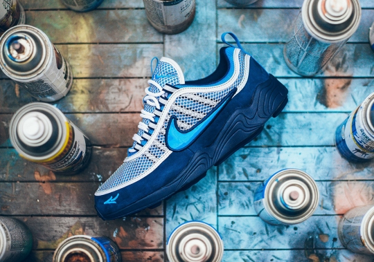 Stash x Nike Zoom Spiridon Releases Tomorrow